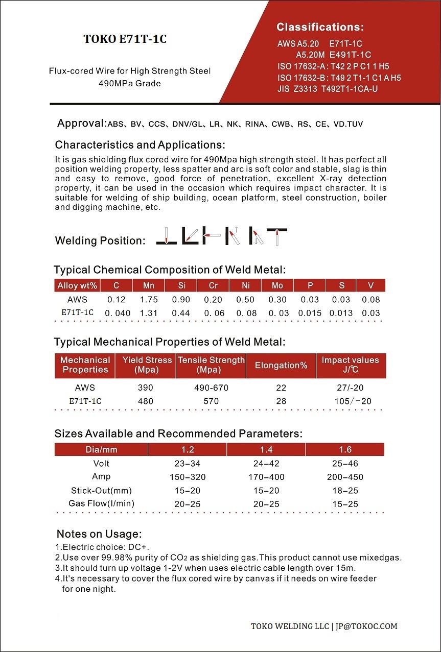 Welding Rods |Welding Wire |Welding Flux |TOKO Group Ltd,